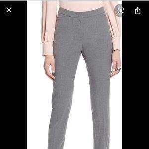 Halogen Taylor fit trousers purple/gray
